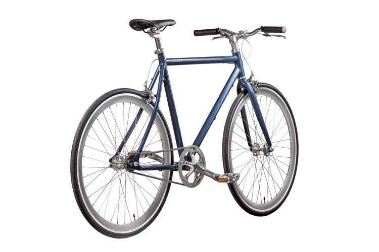 LEKKER Amsterdam Deep Blue Fixie Style Series Rear Angle view