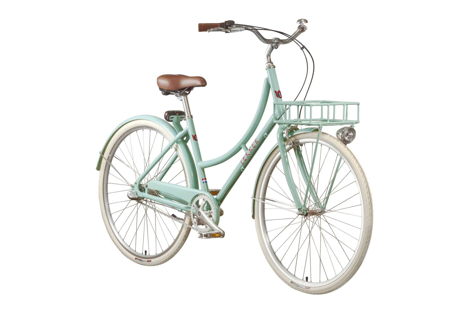 Lekker Sportief Pastel Blue Premium Dutch Bike Retro Vintage Bike