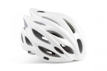 Lekker commuter bike helmet matt white