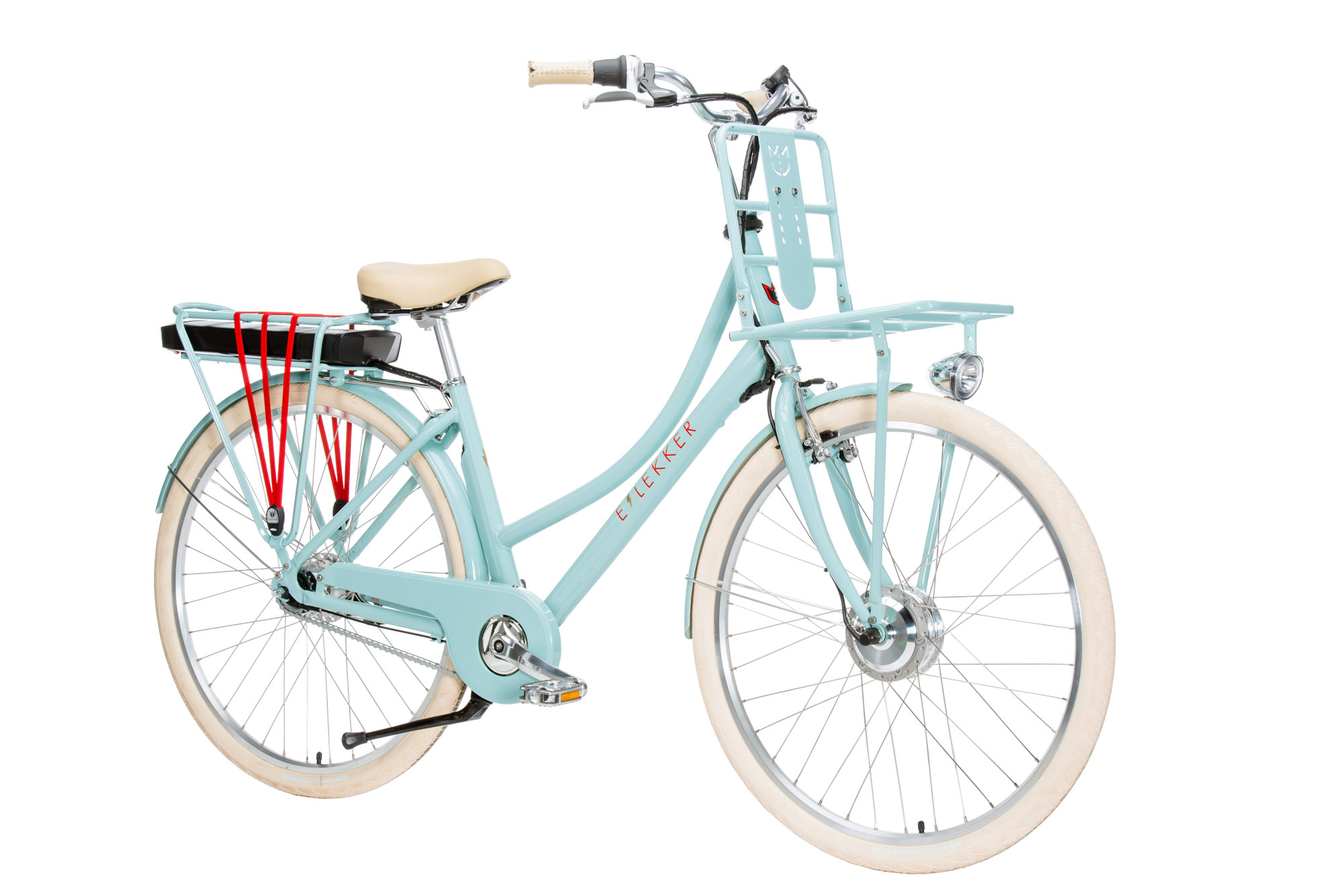 Lekker Electric Bike Womens Pastel Blue