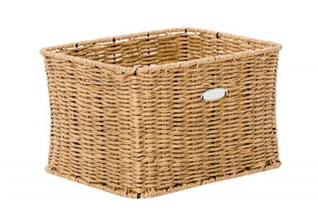 The Dutch Front Basket - Honey Brown