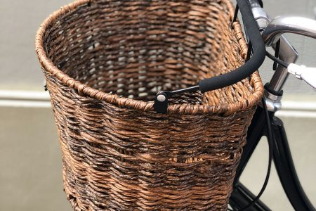 The Classic Oval Basket – Dark Brown