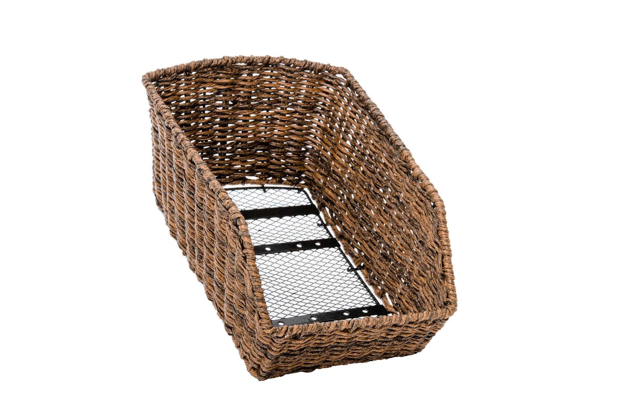 The Dutch Rear Basket – Dark Brown