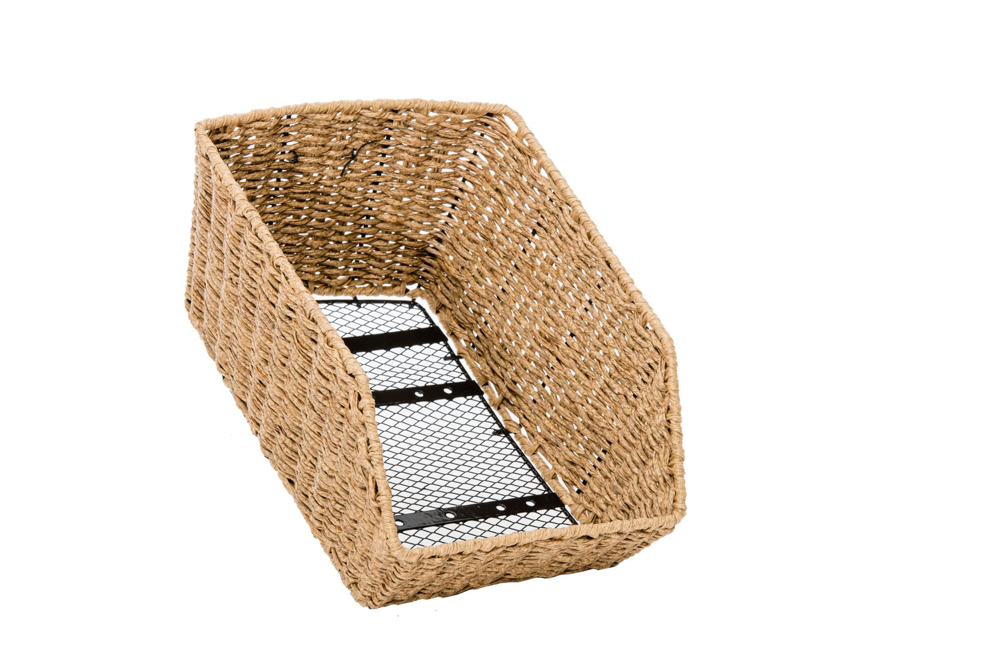 The Dutch Rear Basket - Honey Brown